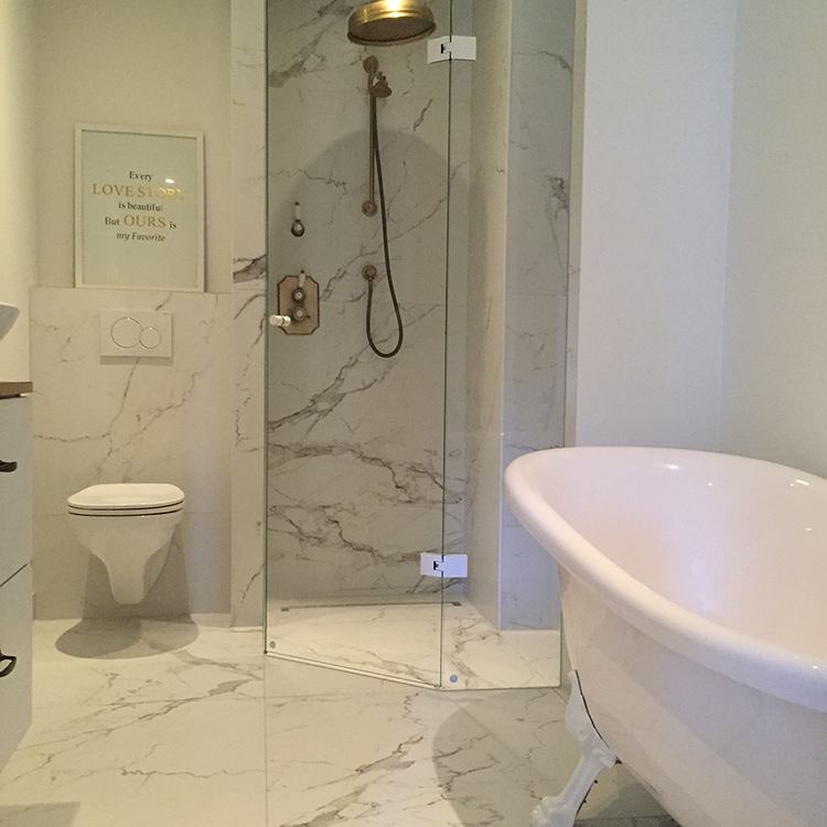 60x60 vloertegels wandtegels carrara marmerlook mat tegels laminaat - Badkamer keramische ...