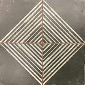 Portugese Tegels Zwart Wit design