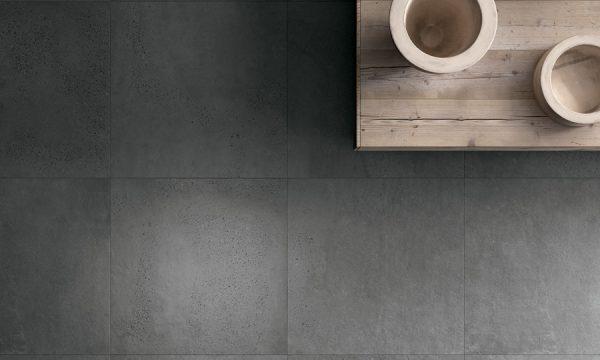 betonlook tegels woonkamer