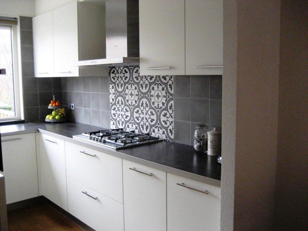 Patroontegels In Keuken : Elegant portugese tegels achterwand keuken beelden foto design