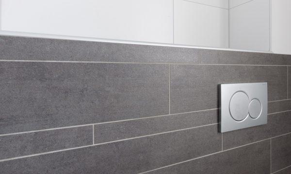 tegelstroken badkamer