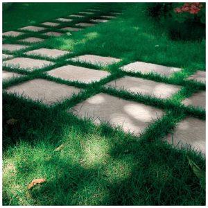 Terrastegels Natuursteenlook Wit