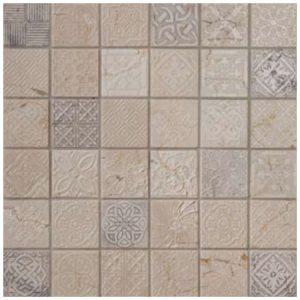 Design Mozaiek Creme