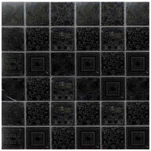 Design Mozaiek Zwart