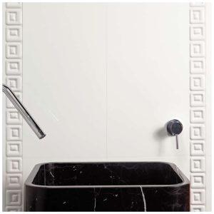 Design Mozaiek Wit Blok