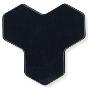 Ypsilon Mozaiek Zwart