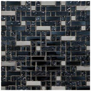 Multi Mozaïek Zwart Metaal