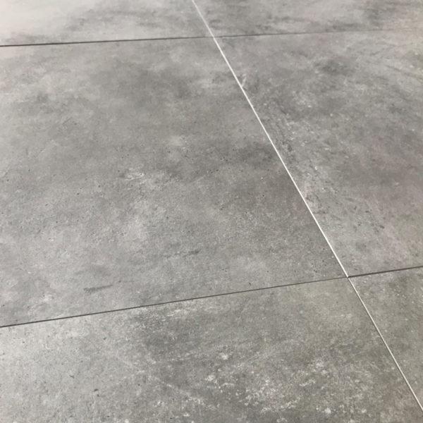 Betonlook Vloertegels 60x60 Donkergrijs New York