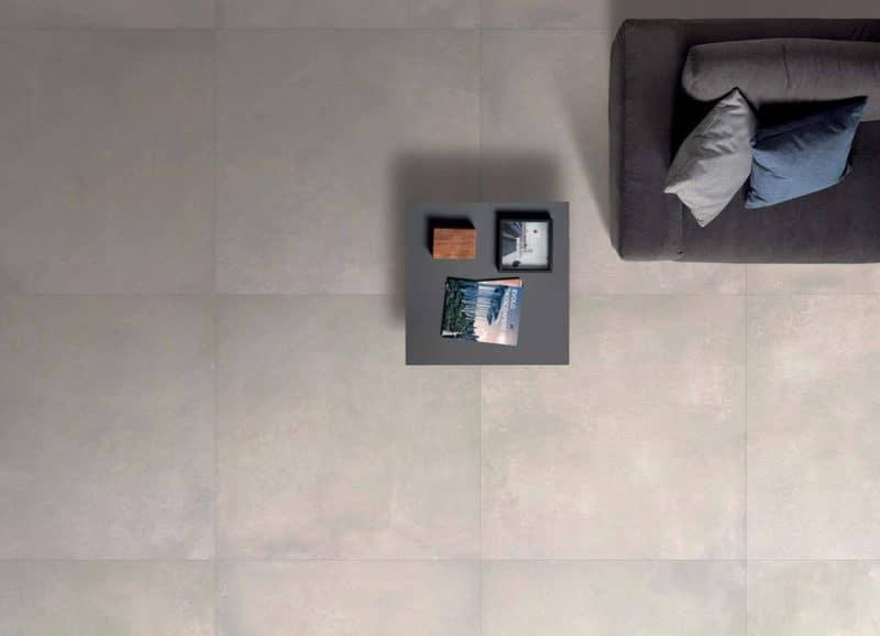 Grote Vloertegels Woonkamer : Grote betonlook vloertegels keramisch betonlook u tegels laminaat