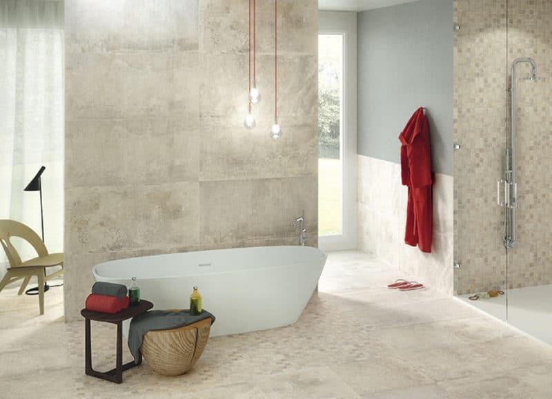 Wandtegels Badkamer Beige : Grote wandtegels badkamer laat je inspireren u tegels laminaat