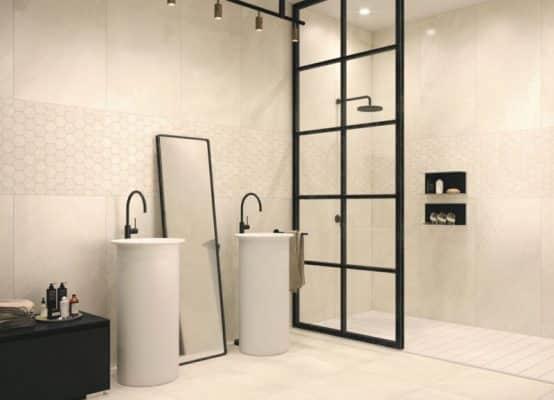 Grote Wandtegels Badkamer