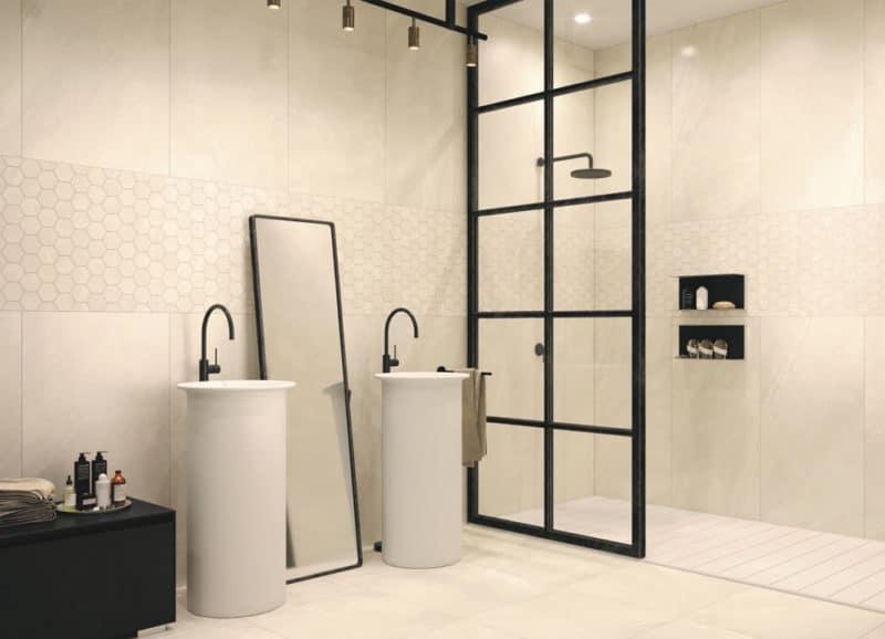 Wandtegels Badkamer Antraciet : Grote wandtegels badkamer laat je inspireren u2013 tegels & laminaat