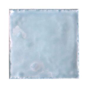 Handvorm Tegel 15x15 Blauw Glans