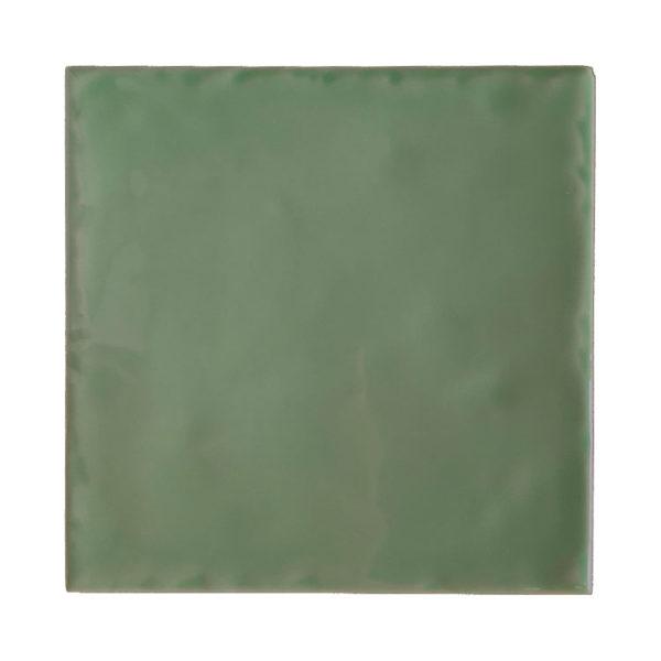 Handvorm Tegel 15x15 Lichtgroen