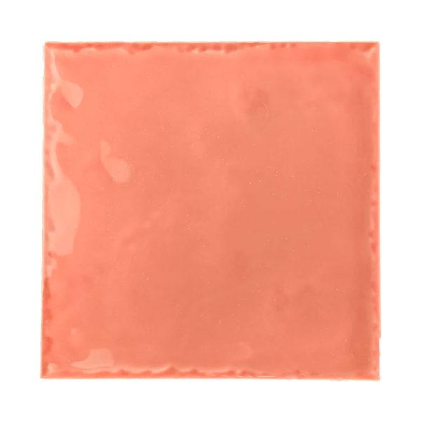 Handvorm Tegel 15x15 Roze Glans