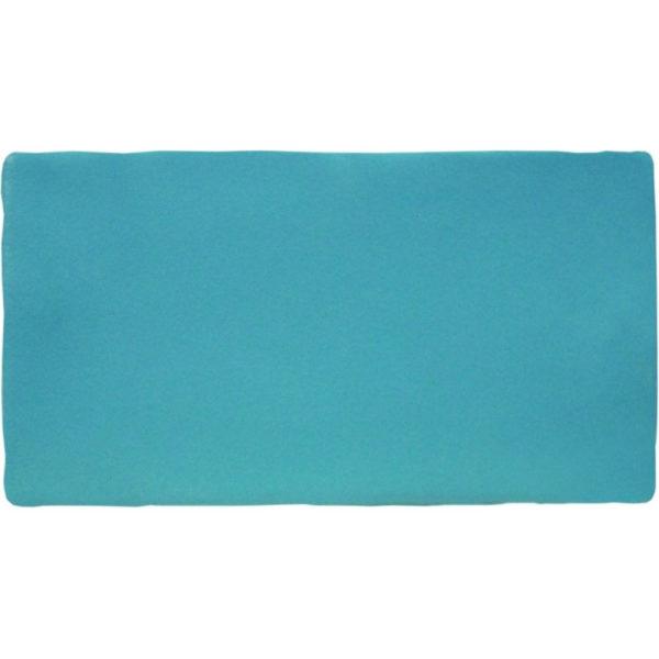 Handvorm Tegel 7,5x15 Blauw Teal