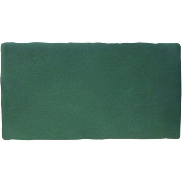 Handvorm Tegel 7,5x15 Donkergroen Petrol