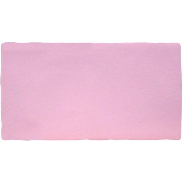 Handvorm Tegel 7,5x15 Roze Rosa