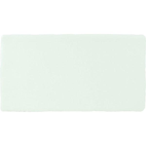 Handvorm Tegel 7,5x15 Wit Blanco Mate