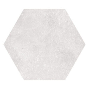 Hexagon 23x26,6 Gebroken Wit Blanco