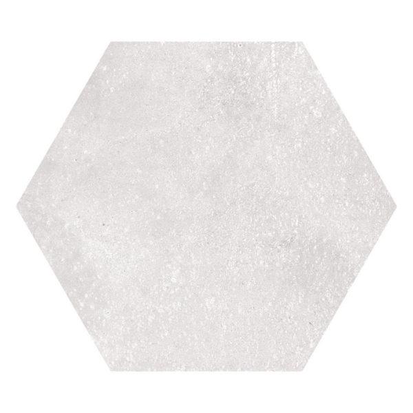 Hexagon 23x26,6 Gebroken Wit Blanco
