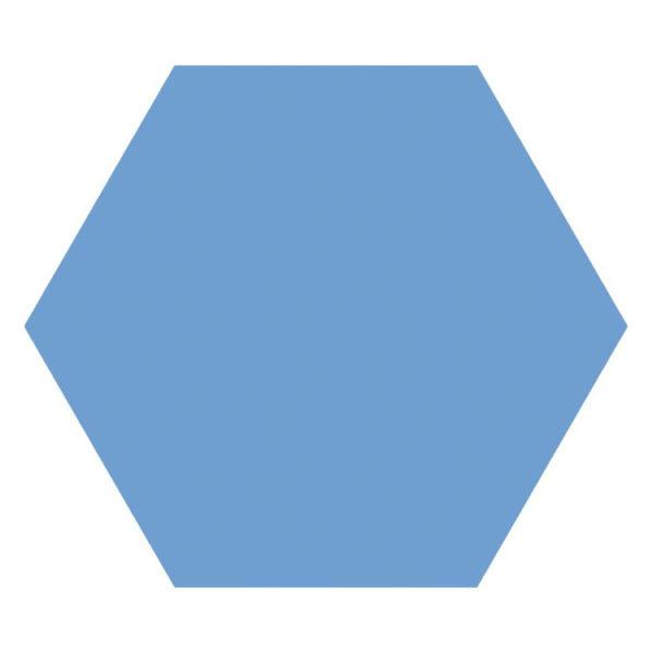 Hexagon 25x22x1 Blauw Basic Niagara
