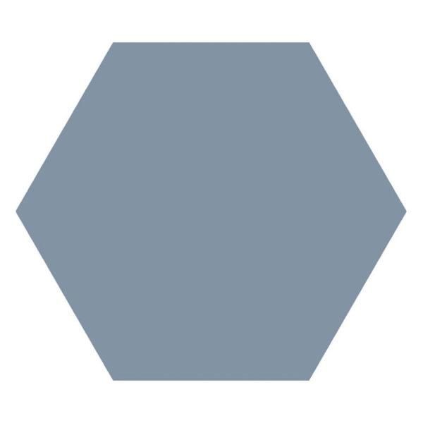 Hexagon 25x22x1 Korenbloemblauw Basic Ducados