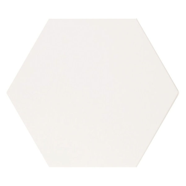 Hexagon 25x22x1 Wit Basic White