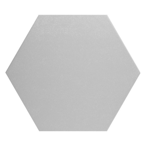 Hexagon 25x22x1 Zilver Basic Silver
