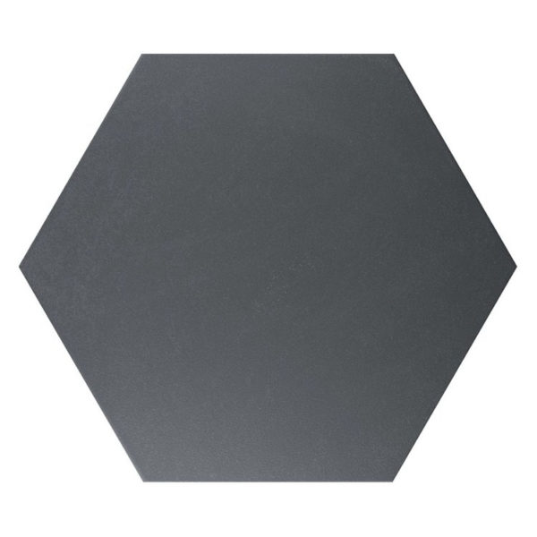Hexagon 25x22x1 Mat Zwart Basic Black