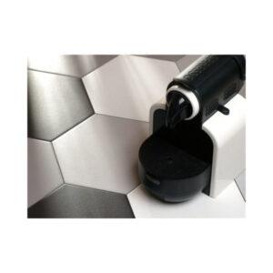 Hexagon 25x22x1 Zwart Basic Black
