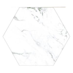 Hexagon tegel 25x22 Wit
