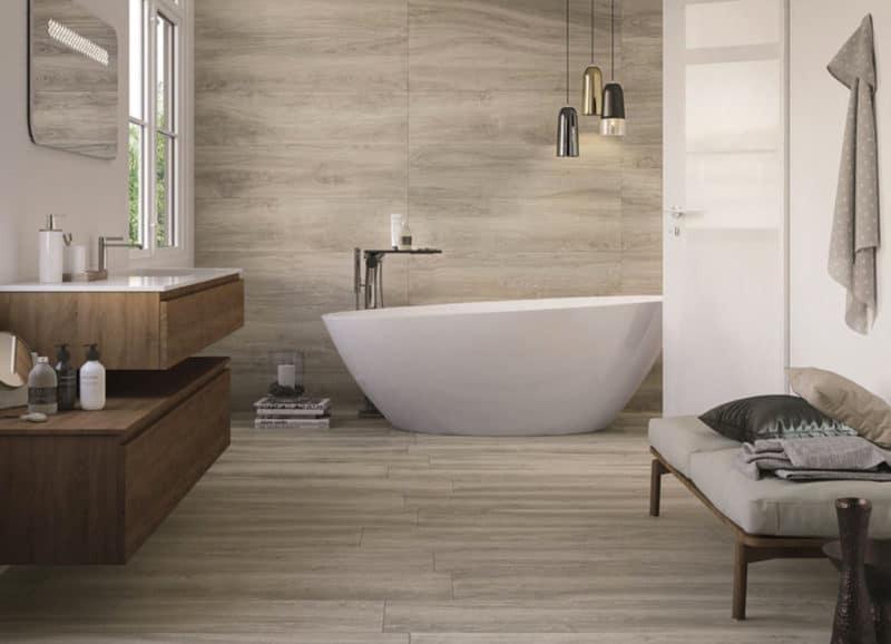Retro Wandtegels Badkamer : Houtlook tegels in de badkamer u2013 tegels & laminaat