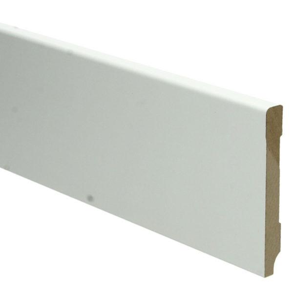 MDF Moderne Plint 90x12 Ral 9010