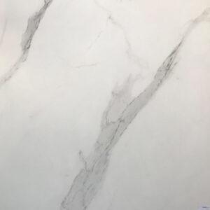 Marmerlook Tegel 100x100 Hoogglans Carrara To Be Statuario