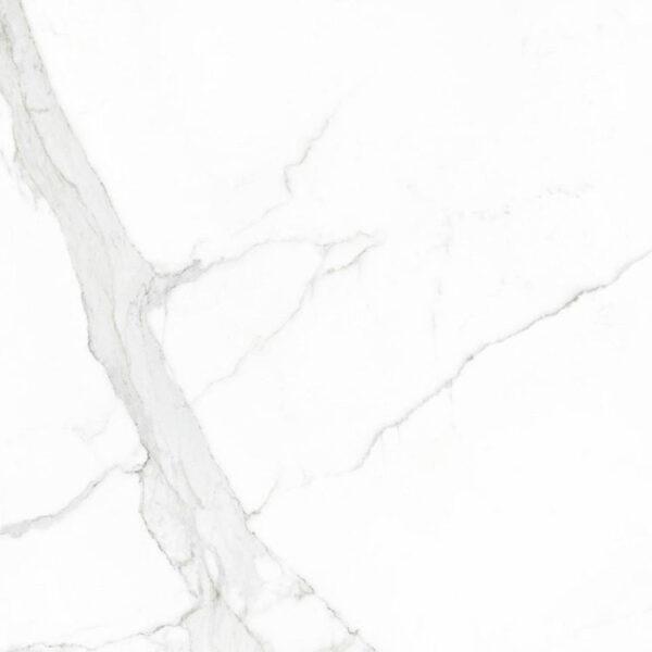 Marmerlook Tegel 60x60 Wit Statuario Mat