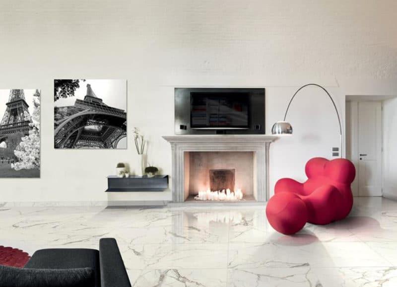 Marmer In Woonkamer : Marmerlook tegels in de woonkamer tegels laminaat