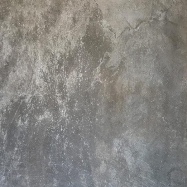 Natuursteenlook Vloertegel 100x100 Antraciet Multicolour Selected