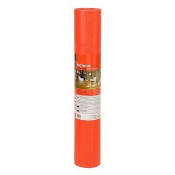 Ondervloer - Isoheat Rood 2mm