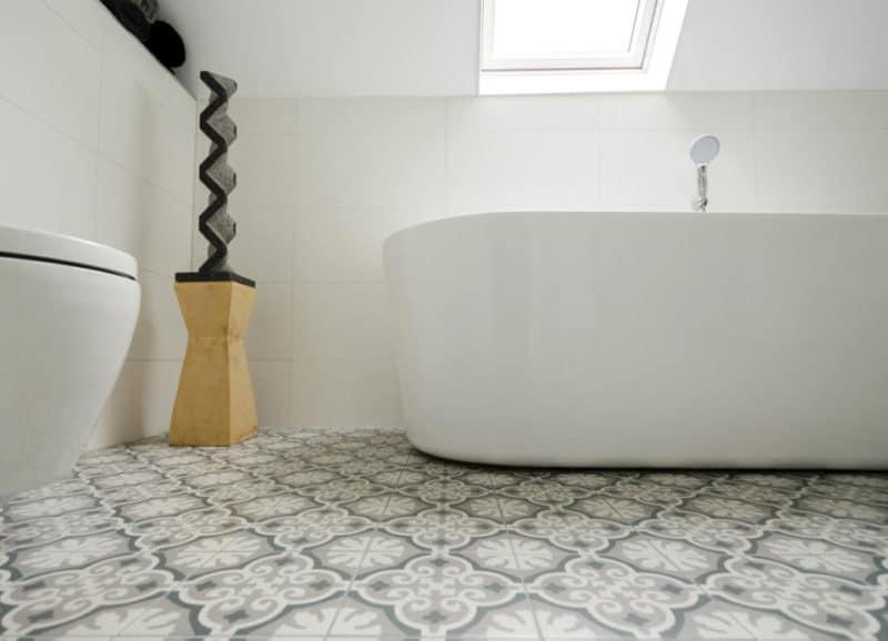 Portugese Tegels Badkamer : Patroontegels portugese tegels in de badkamer tegels laminaat