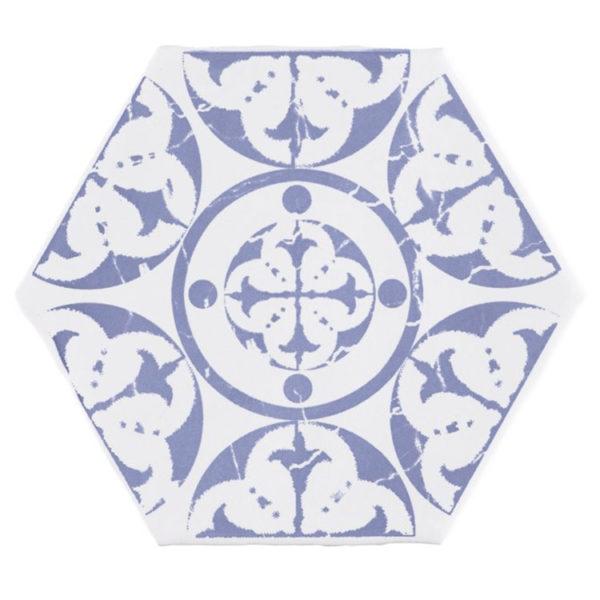 Portugese Tegel 15x15 Wit Blauw Marrakech1