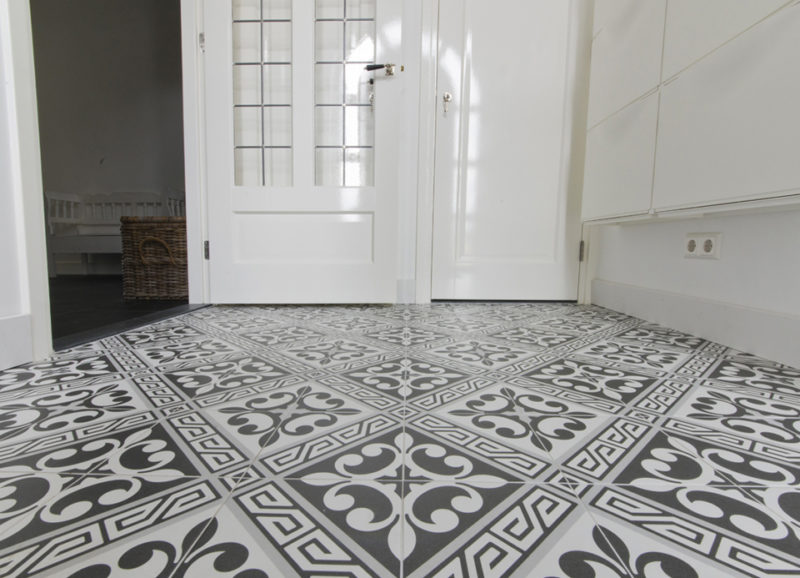 Portugese Tegels Toilet : Patroontegels portugese tegels in het toilet u2013 tegels & laminaat
