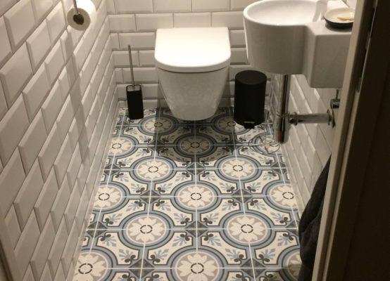 Portugese Tegels Toilet