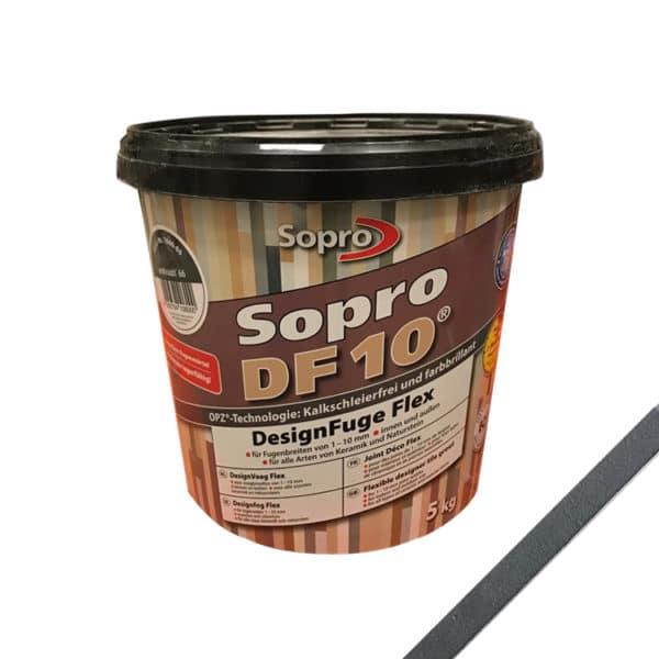 Sopro Voeg DF10 Zwart
