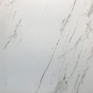 Marmerlook Tegel 80x80 Carrara Hoogglans