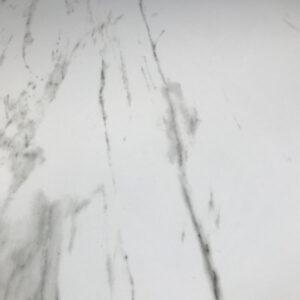 Marmerlook Tegel 80x80 Carrara Hoogglans