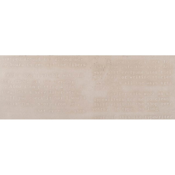 Wandtegel 30x90 Teksten Nar Beige Words