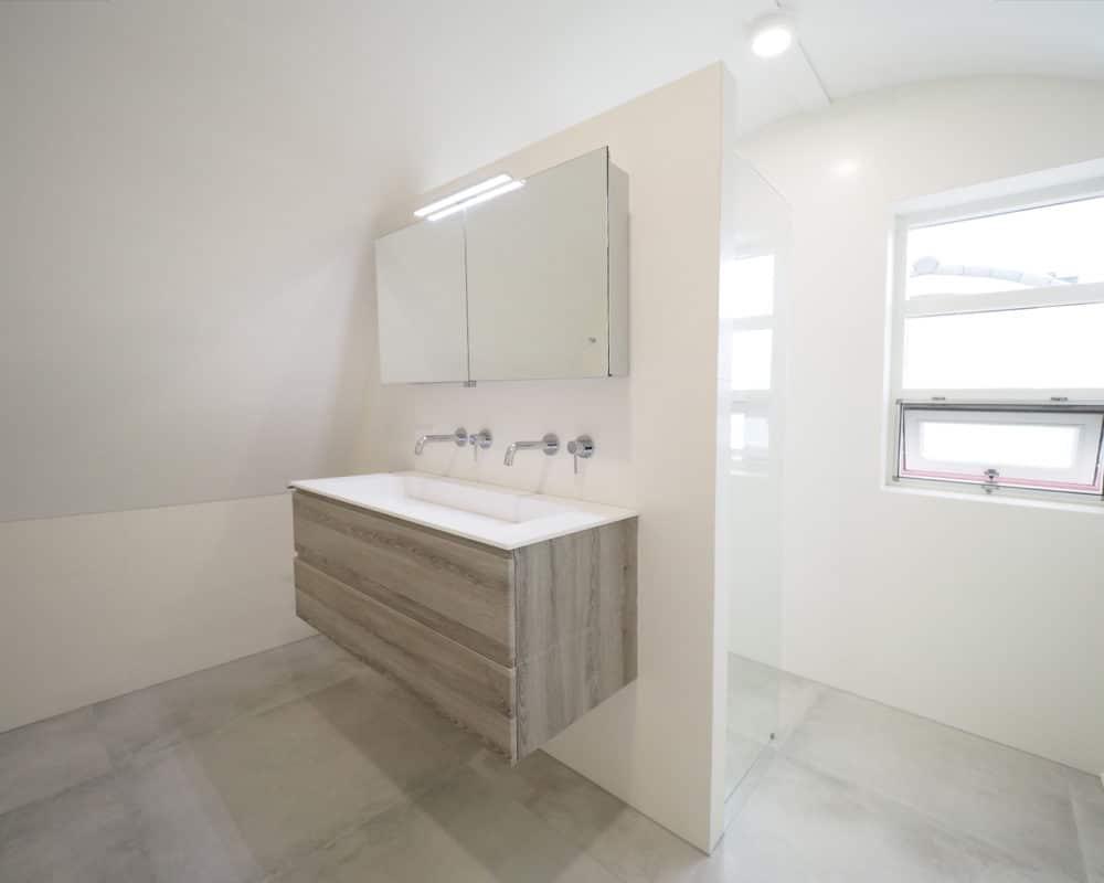 Badkamer Tegel Betonlook : Een betonlook badkamer betonlook tegels kopen bij tegelmegashop