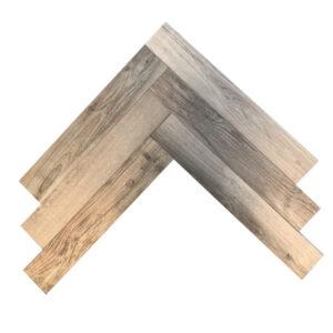 Keramisch Parket - Visgraat Houtlook Tegels 90x15 Woodside Oak
