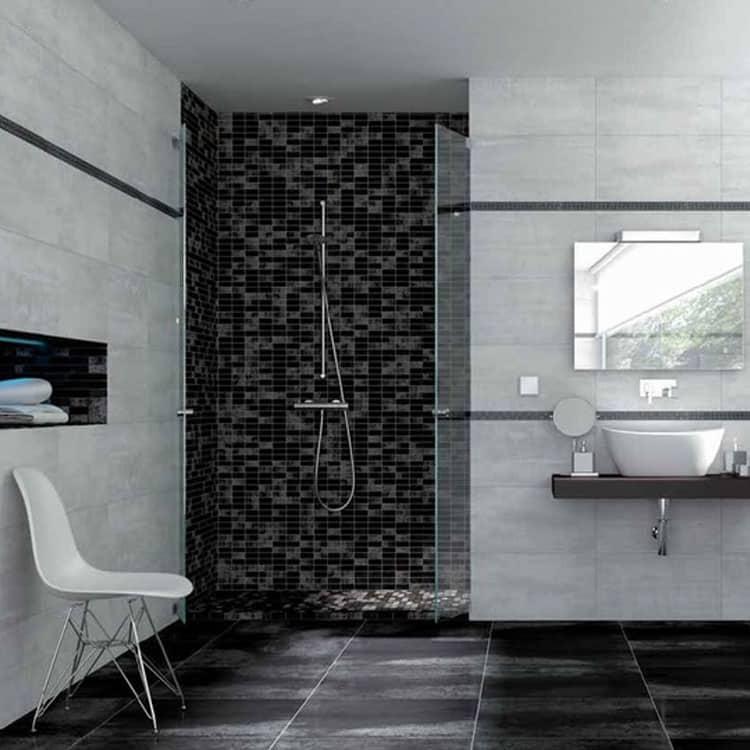 Metallook Tegels 60x60 Zwart Tau Corten Black
